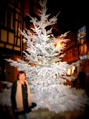Esther who took me around Alsace's Xmas markets
