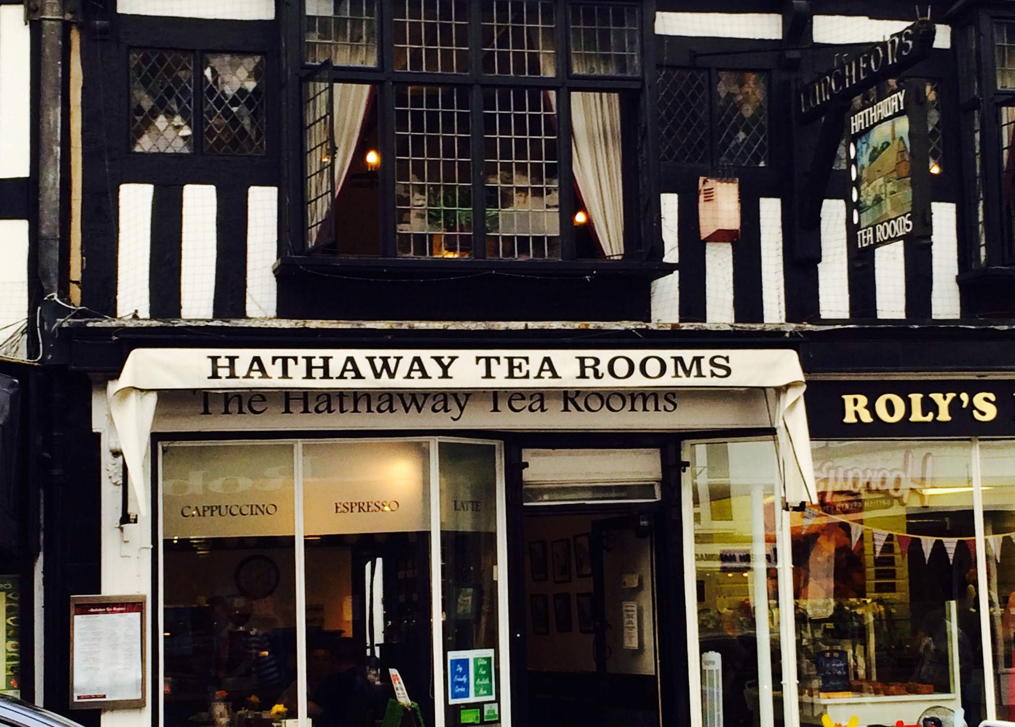 hathaway tea rooms scones
