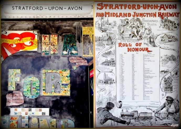 Stratford upon Avon Railway Station