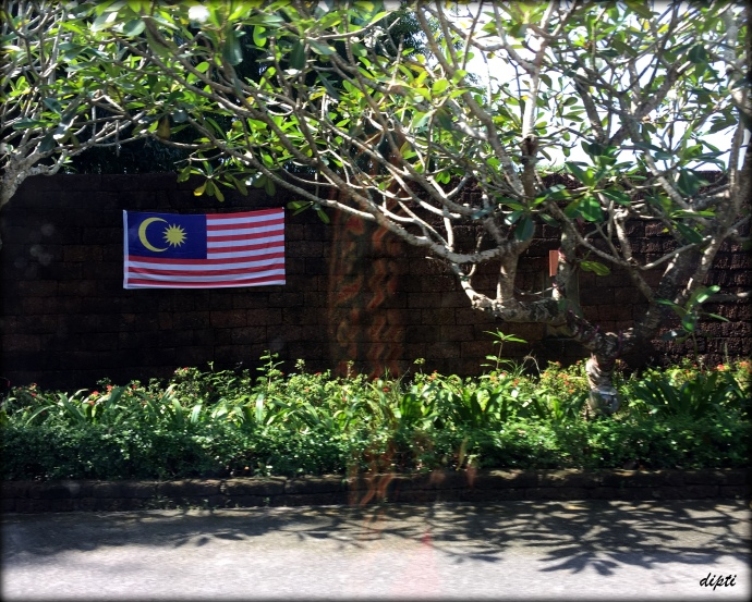 Malaysia flag travel