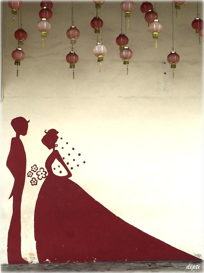 wedding penang art