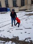 Snow time, folks!