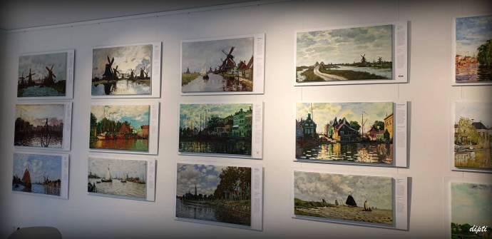 Monet art Zaandam